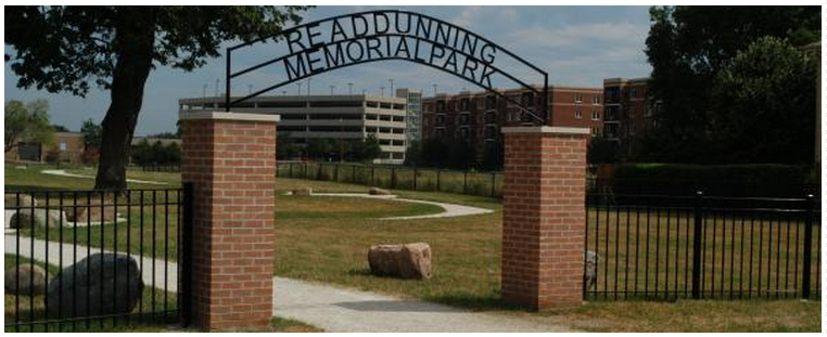 Dunning Cemetery Entrance